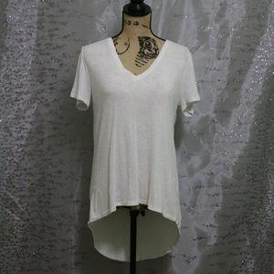 Women's Long White T-Shirt